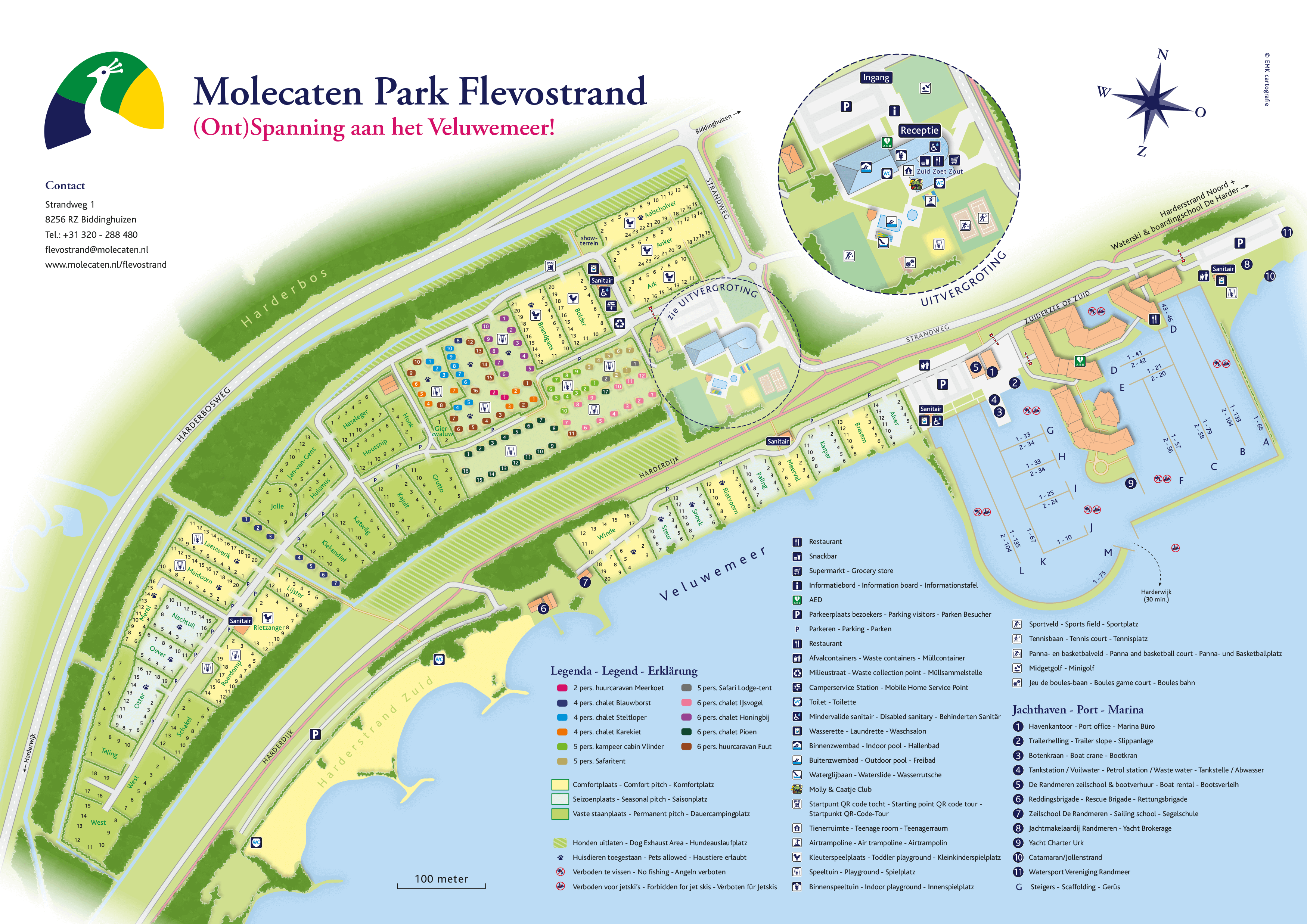 Molecaten Park Flevostrand accommodation.parkmap.alttext