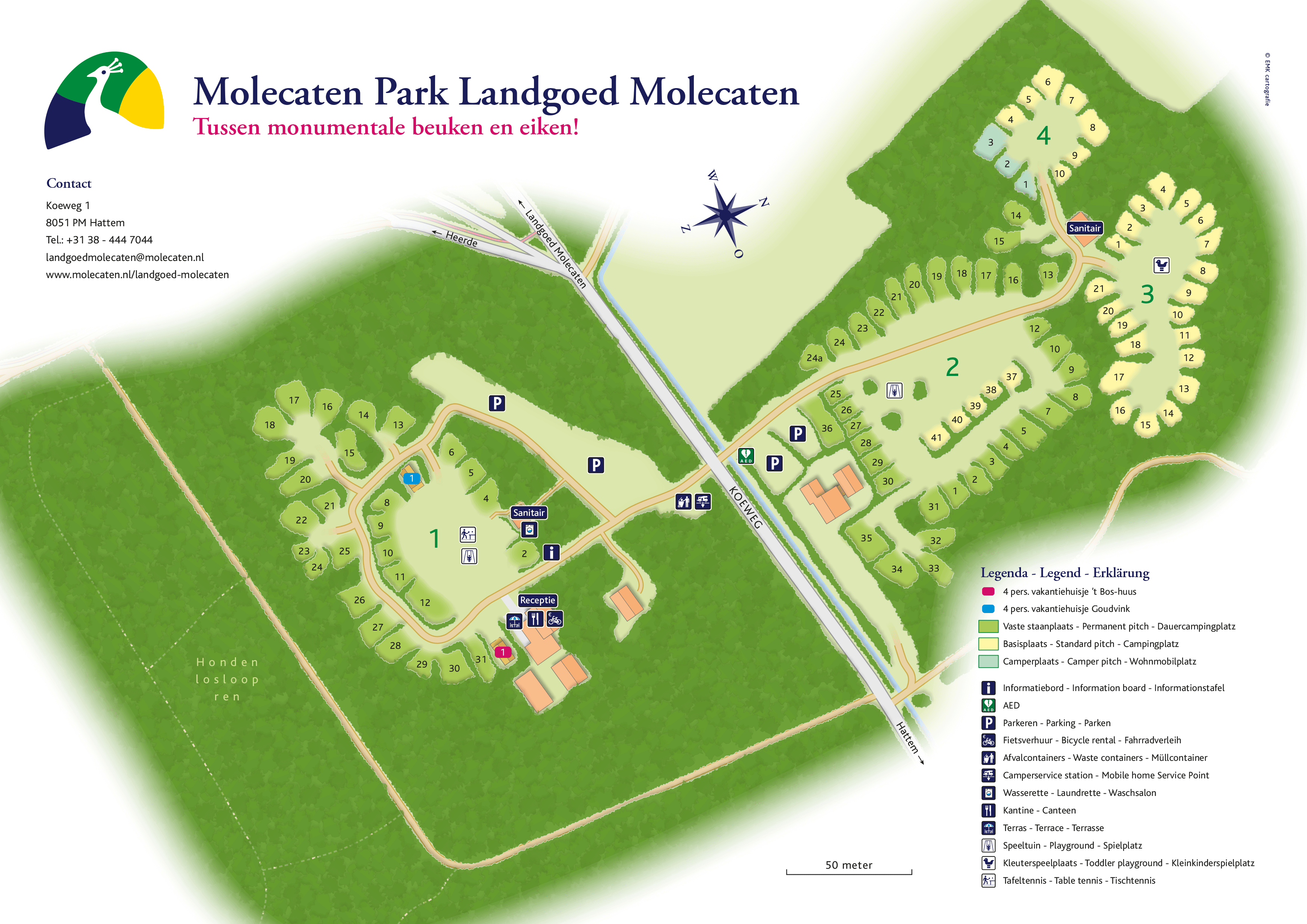 Molecaten Park Landgoed Molecaten accommodation.parkmap.alttext
