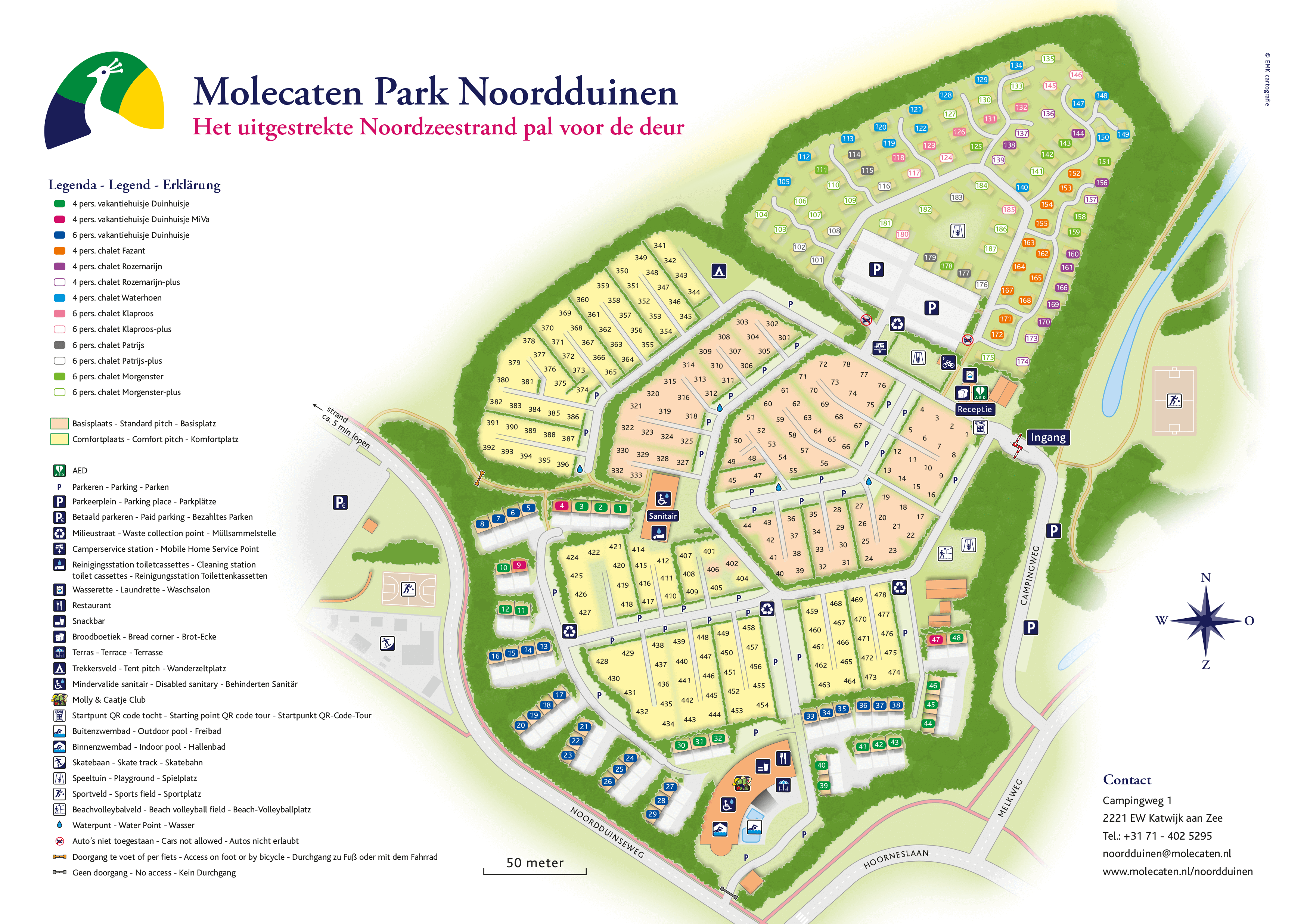 Molecaten Park Noordduinen accommodation.parkmap.alttext